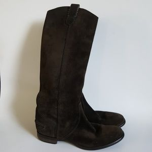 Maxwell Brown Suede Archive Boots 7